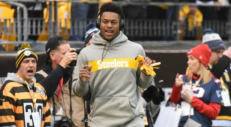 acc1b27cdd7 JuJu Smith-Schuster Surprises Steeler Fan's Pap With Early Christmas Gift    93.7 The Fan