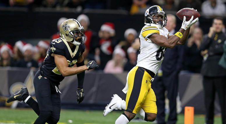 Antonio Brown TD catch