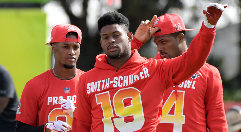 JuJu at the Pro Bowl