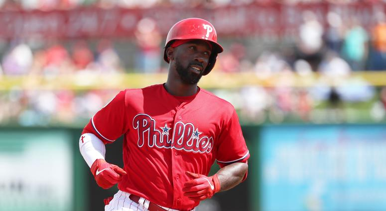 99431bb5e91 Andrew McCutchen Goes Deep For Phillies In First At Bat