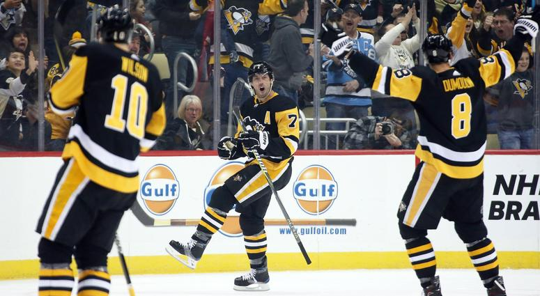 meet 1209e 8a750 Penguins Home Playoff Opener Brings Back Big Screen and ...