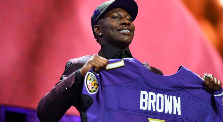 Marquise Brown drafted by Ravens