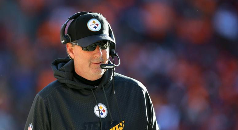 Pittsburgh Steelers defensive coordinator Keith Butler