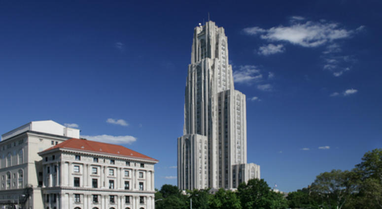 Cathedral of Learning University of Pittsburgh. Pitt, school.