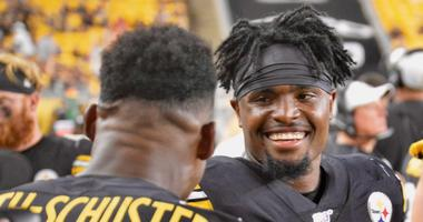 Steelers WR Diontae Johnson in Pittsburgh's 17-7 preseason win over Kansas City