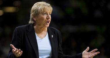 North Carolina coach Sylvia Hatchell