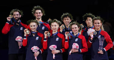 Members of the U.S. team