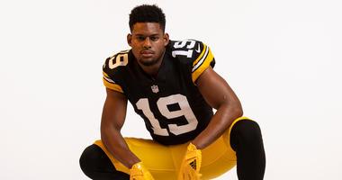 Steelers Throwback Jersey JuJu Smith-Schuster