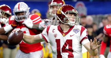 Southern California quarterback Sam Darnold