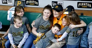 Pittsburgh Pirates retired usher Phil Coyne