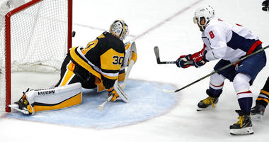 Washington Capitals Alex Ovechkin, Pittsburgh Penguins Matt Murray