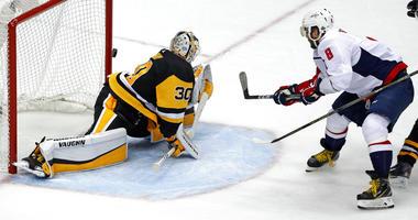 Washington Capitals Alex Ovechkin, Pittsburgh Penguins Matt Murray