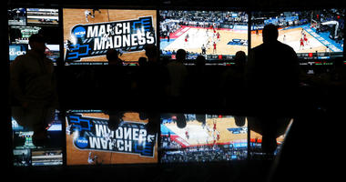 Coverage of the first round of the NCAA college basketball tournament