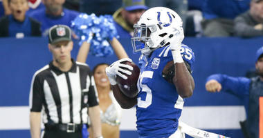 Indianapolis Colts running back Marlon Mack