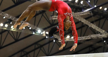 Simone Biles at Gymnastics World Championships