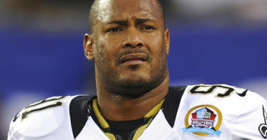 New Orleans Saints defensive end Will Smith