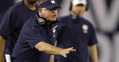 Notre Dame coach Brian Kelly