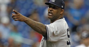 New York Yankees' CC Sabathia