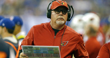 Arizona Cardinals head coach Bruce Arians