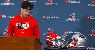 Kansas City Chiefs quarterback Patrick Mahomes