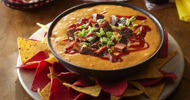 Hormel Foods, KC BBQ chili dip, one of four team-inspired Hormel chili dips created by chef Kenneth Temple