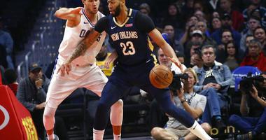 New Orleans Pelicans' Anthony Davis
