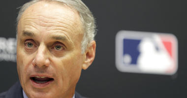 Baseball Commissioner Rob Manfred