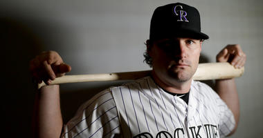 Colorado Rockies second baseman Daniel Murphy