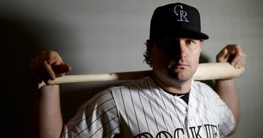 Colorado Rockies second baseman Daniel Murphy