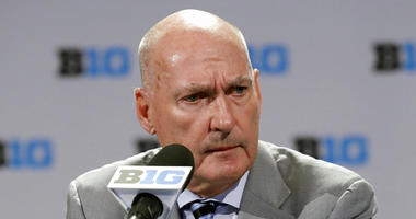 Big Ten Commissioner Jim Delany