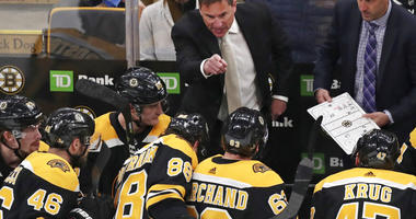 Boston Bruins coach Bruce Cassidy