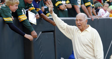 former Green Bay Packers quarterback Bart Starr