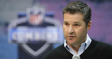 Houston Texans general manager Brian Gaine