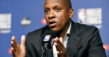 Toronto Raptors basketball team general manager Masai Ujiri