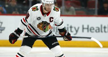 Chicago Blackhawks center Jonathan Toews