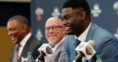 New Orleans Pelicans first-round NBA draft pick Zion Williamson