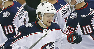 Columbus Blue Jackets left wing Artemi Panarin
