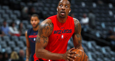 Washington Wizards center Dwight Howard