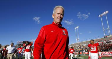 New Mexico coach Bob Davie