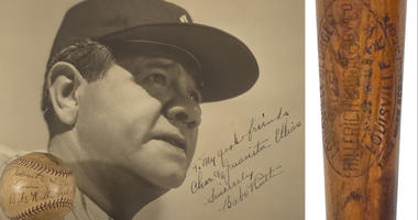 Babe Ruth's Belongings Going Up For Auction At Yankee Stadium