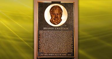 Brandi Chastain Plaque