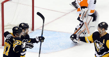 The Pens And Flyers Prepare For Their First Round Matchup