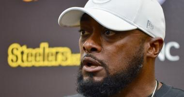 Steelers coach Mike Tomlin at 2018 press conference
