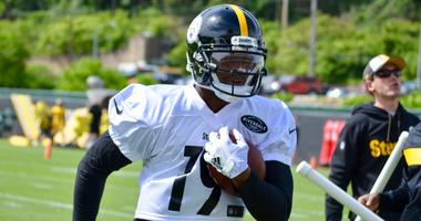 Steelers wide receiver JuJu Smith-Schuster at OTAs in 2019