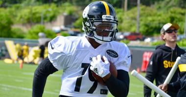Steelers WR JuJu Smith-Schuster at OTAs in 2019
