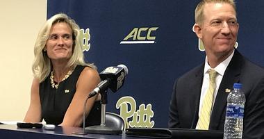 Mike Bell introduced as Pitt baseball coach