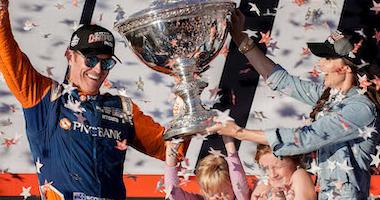 Scott Dixon, Emma Davies Dixon, Celebrate Dixon's Fifth IndyCar Championship