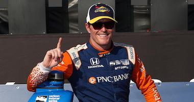 Scott Dixon Sits In Victory Lane In Toronto
