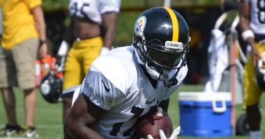 Eli Rogers returns to camp with the Steelers.