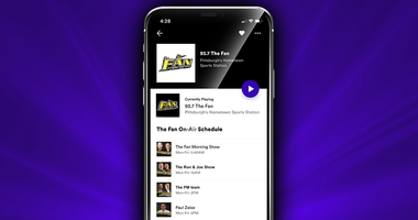 93.7 The Fan On-Air Schedule